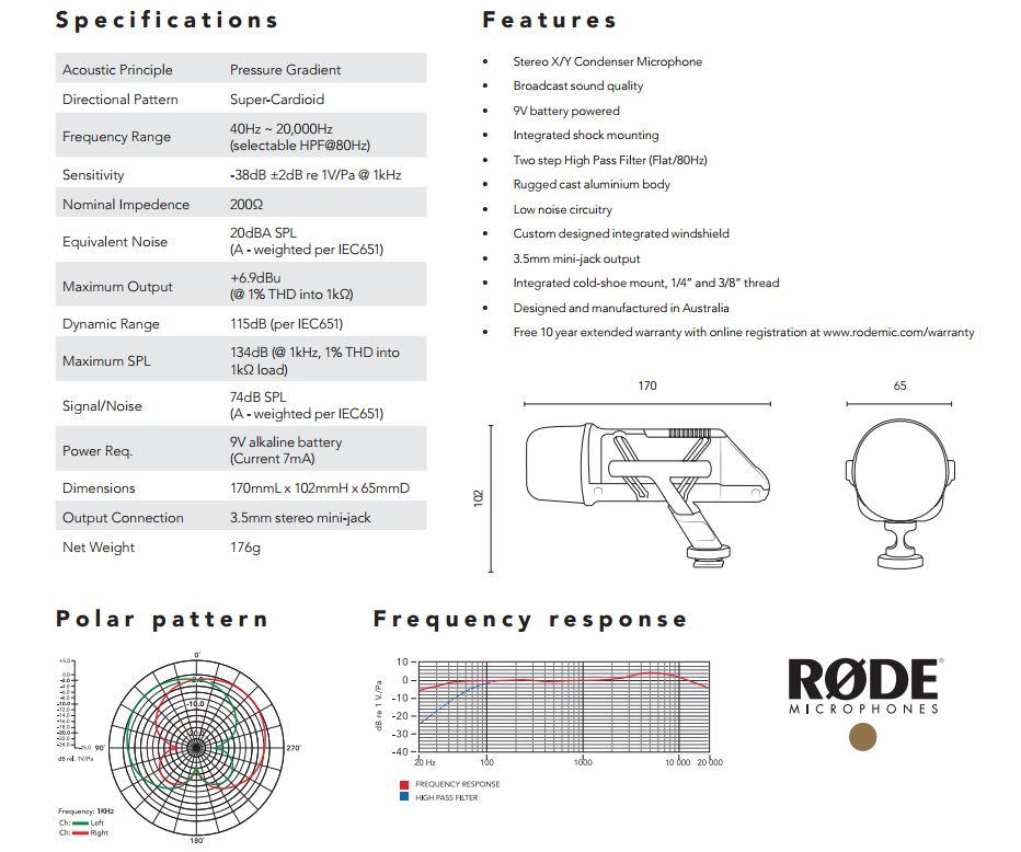 rode stereo videomic_datasheet_1