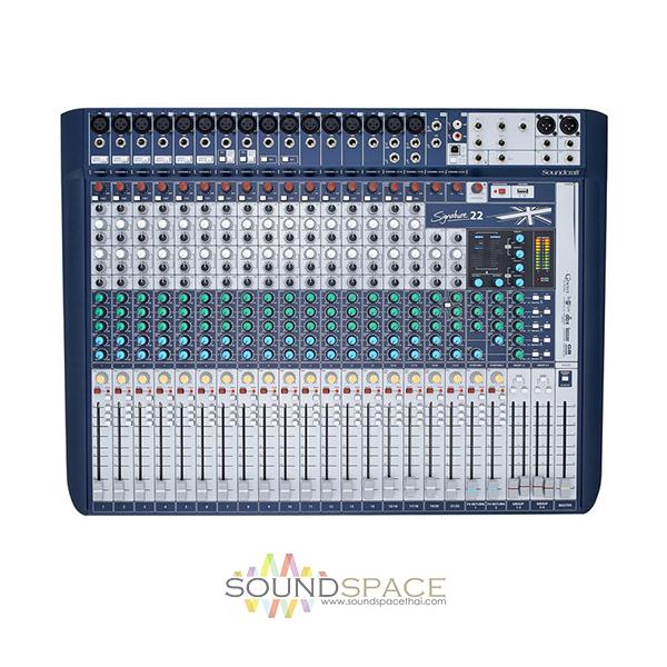 soundcraft signature 22 mixer. Black Bedroom Furniture Sets. Home Design Ideas