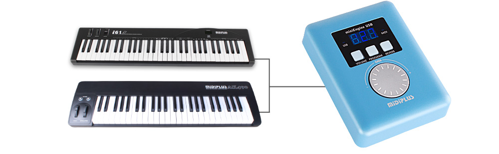 how to connect a non midi keyboard to computer