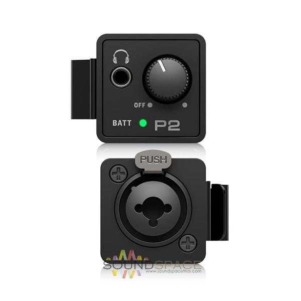 behringer p2 ultra compact in ear monitor amplifier. Black Bedroom Furniture Sets. Home Design Ideas
